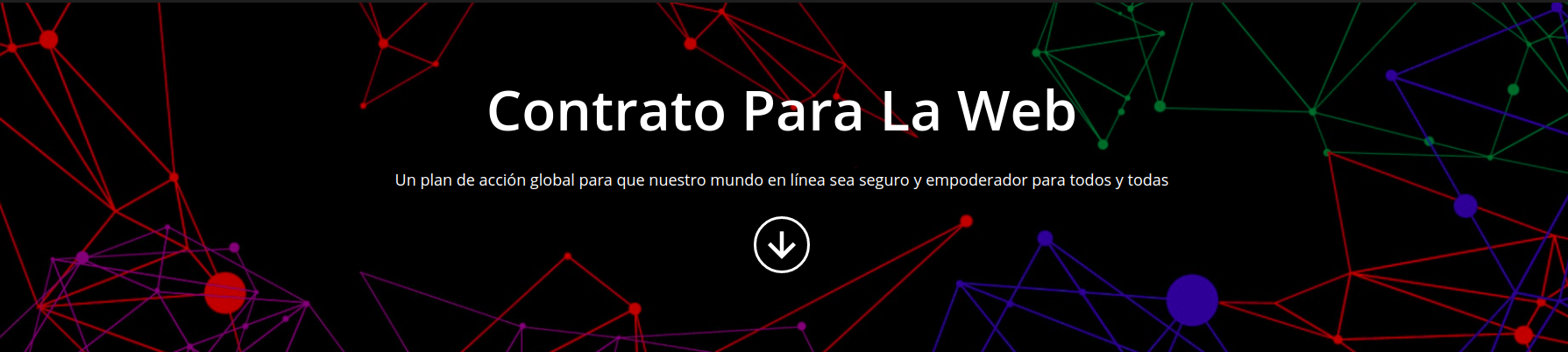 Contrato para la Web - projecto de Tim Berners-Lee